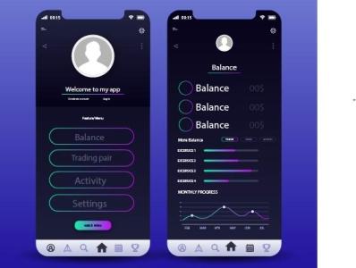 simple finance wallet app