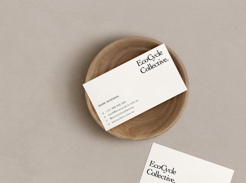 ECOCYLE CO. // SMALL BUSINESS BRANDING logo design branding