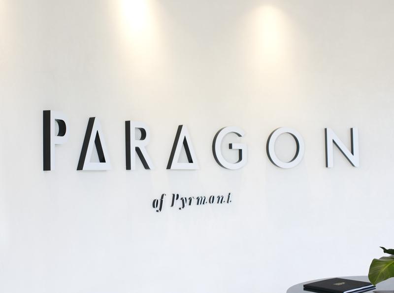 PARAGON OF PYRMONT // BRANDING + SIGNAGE website signage logo design branding
