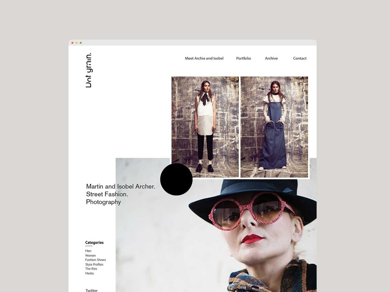 DOTGRAIN // BRANDING + WEB DESIGN illustration website logo design branding