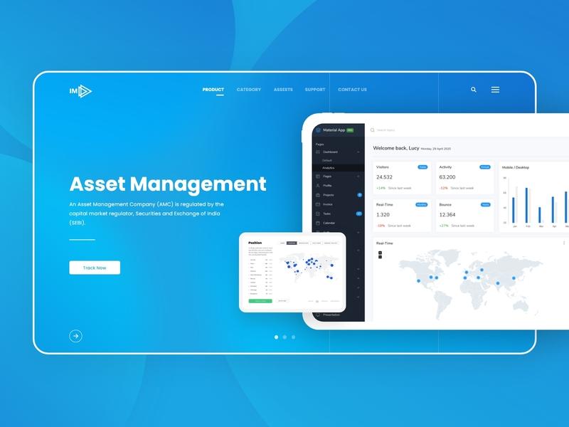 ERP Asset Management Ui/Ux Web Concept flow business assets asset management crm dashboard erp implementation crm sap erp concept user interface user experience web design minimal web identity ux ui design