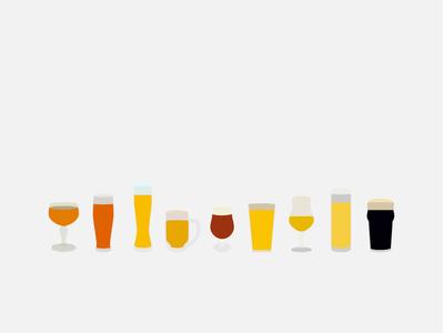 Beers beer vector icon simple drink