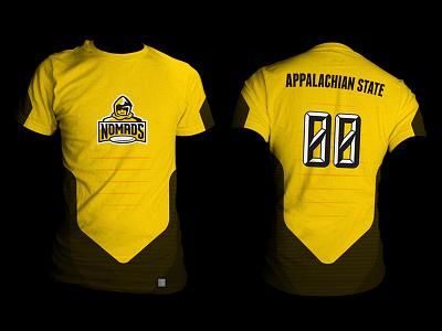 Ultimate Uniforms appalachian state university asu nomads ultimate frisbee jersey uniform sublimation
