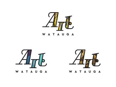 Art Watauga Dynamic Identity art watauga dynamic identity logo custom typography neutra text