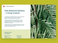 Oslo Botanical Gardens
