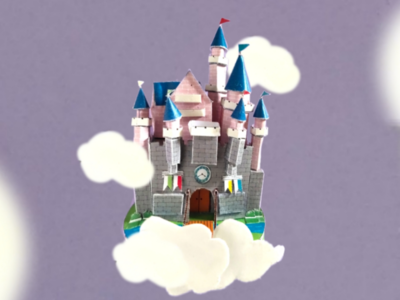 Paper dream castle