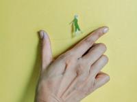 Miniature humans- balance
