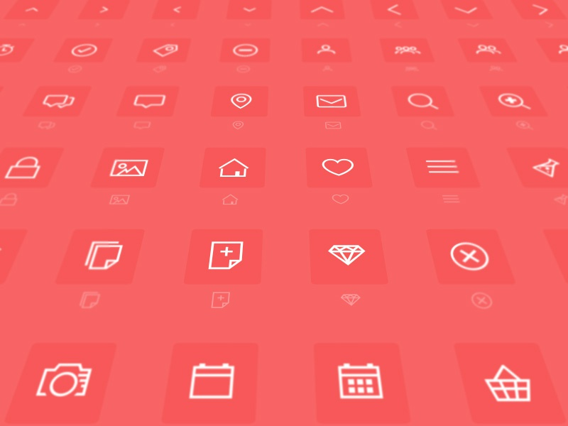 Download Minimal Icon Font (Freebie) by Chris Godby on Dribbble