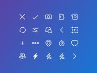 Custom icons for an iOS app