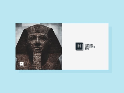 HLS - high traffic site brand overhaul timeless simple history studying learning minimal logo branding