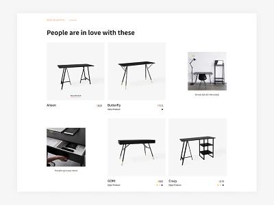 Ecommerce Website - Furniture for you WorkStation ux web design ui