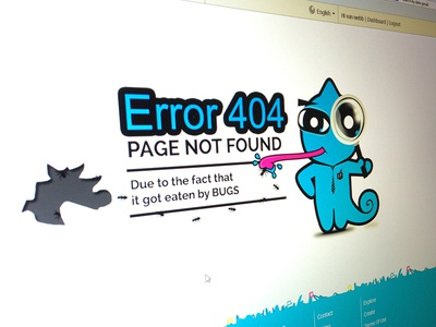 New 404 Page