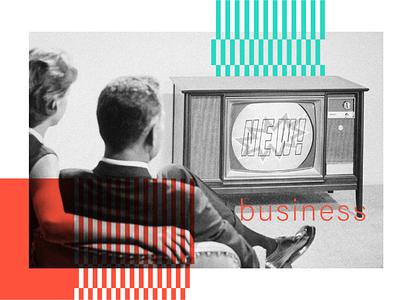 New is comin' admind branding art whatsonyourhomescreen tv vintage photo