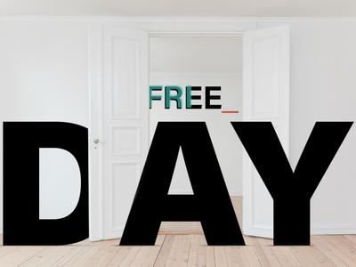Hello Friday! weekend acumin typography branding admind vector photo friday