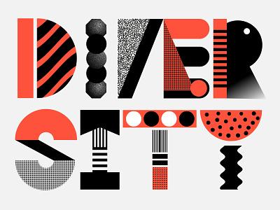 Diversity Day #4 vector branding admind tolerance typography illustration diversity celebrate