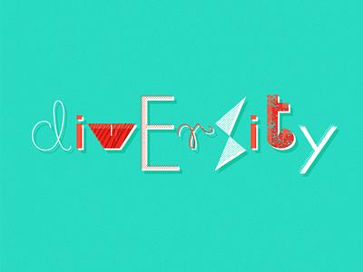 Diversity Day #5 admind art illustration logo typography tolerance diversity branding celebrate vector