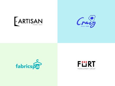 Logofolio 4 (Finishes/Doors, Cafe, Laundry, Management Group) fort egg logo door doors logo management group laundry cafe logo symbol design symbols logo design logotype bright redesign icon logo vector graphic design typography branding design