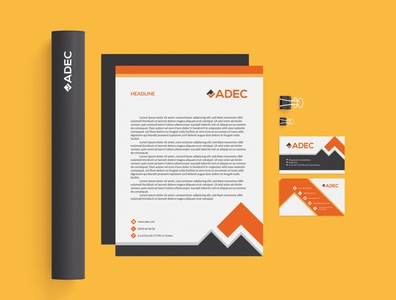 ADEC - Corporate identity (Business card, Letterhead)