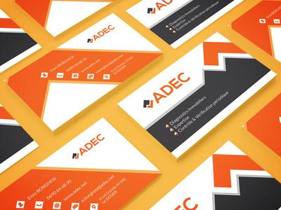 ADEC - Business card Mockup