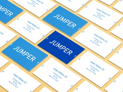 Jumper - Business Card Mockup
