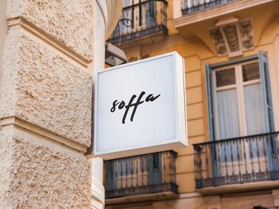 Soffa - Logo for Sofa Online Store