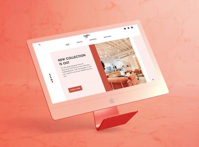 Soffa Online Store Website Design (HomePage)