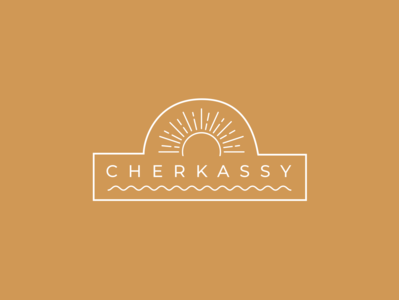 Cherkassy Town Sticker for Dribbble Weekly Warm-Up