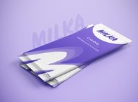 MILKA Chocolate Packaging Redesign for Dribbble Weekly Warm-Up