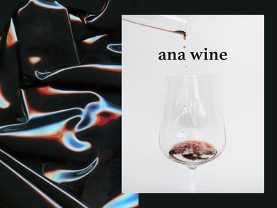 ANA WINE - Logo for a winery
