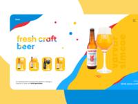 Craft beer e-shop