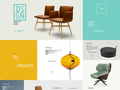 Dsgn - Free .PSD Template by Michele Cialone - Dribbble