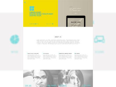 Cube - Free .Psd Template free freebies template psd website web design