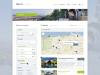 MyVR Responsive multi-property website template