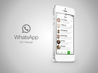 iOS 7 WhatsApp - Chats