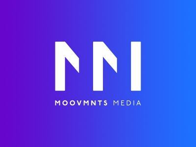 MOOVMNTS Media - Logo Design media monogram identity design photographer filmmaker photography corporate symbol brand icon branding logo