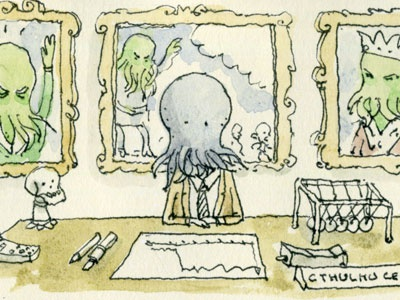 Your glory days are over mr Cthulhu cthulhu hp lovecraft comics moleskine