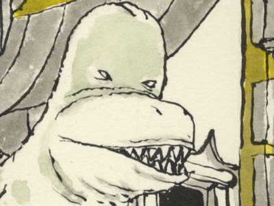 Trademark Infringements dinosaurs illustration