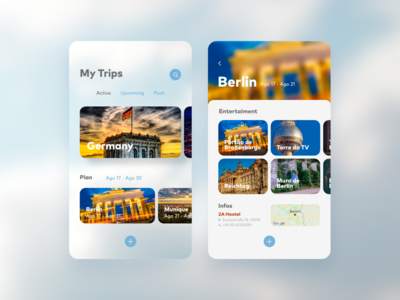 MyTrip - My first UI project