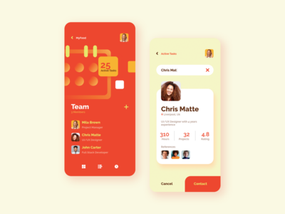 MyPlanner - Planner to Project Team