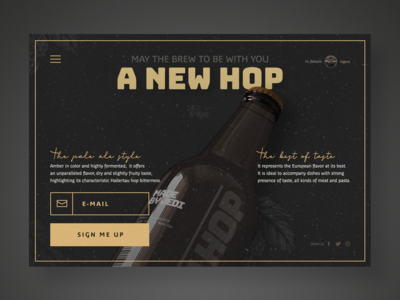 UI design - Come to the HOP side