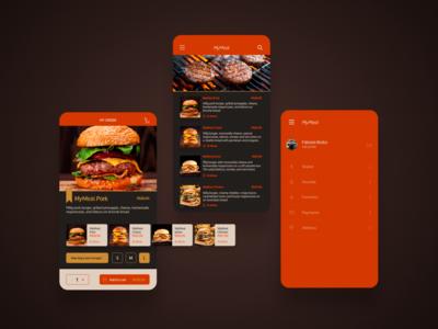 MyMeal - UI concept