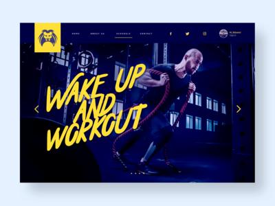 Metazus Workout - UI concept
