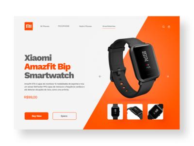UI concept - Xiaomi Amazfit Bip