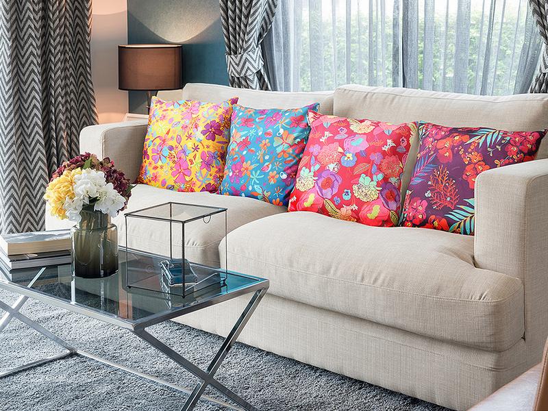 Decojungle Pillow Covers | Photoshoot for Amazon decojungle amazing photoshop lifestyle product ecommerce amazon photography