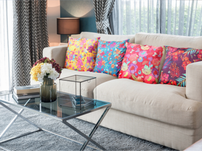 decoJungle Tropical Throw Pillow Covers
