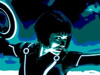 Vexel Art: Quorra of Tron Legacy