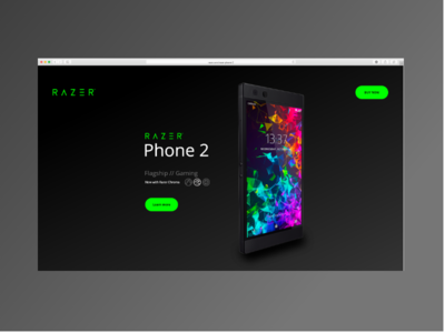 03 Landing Page Dribble   Daily Ui
