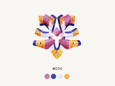 Masked Thirty color mask design illustration