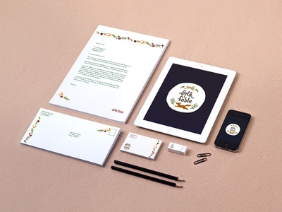 Folk & Fable Branding Stationery Package