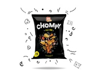 Package Design For M10 Chompy